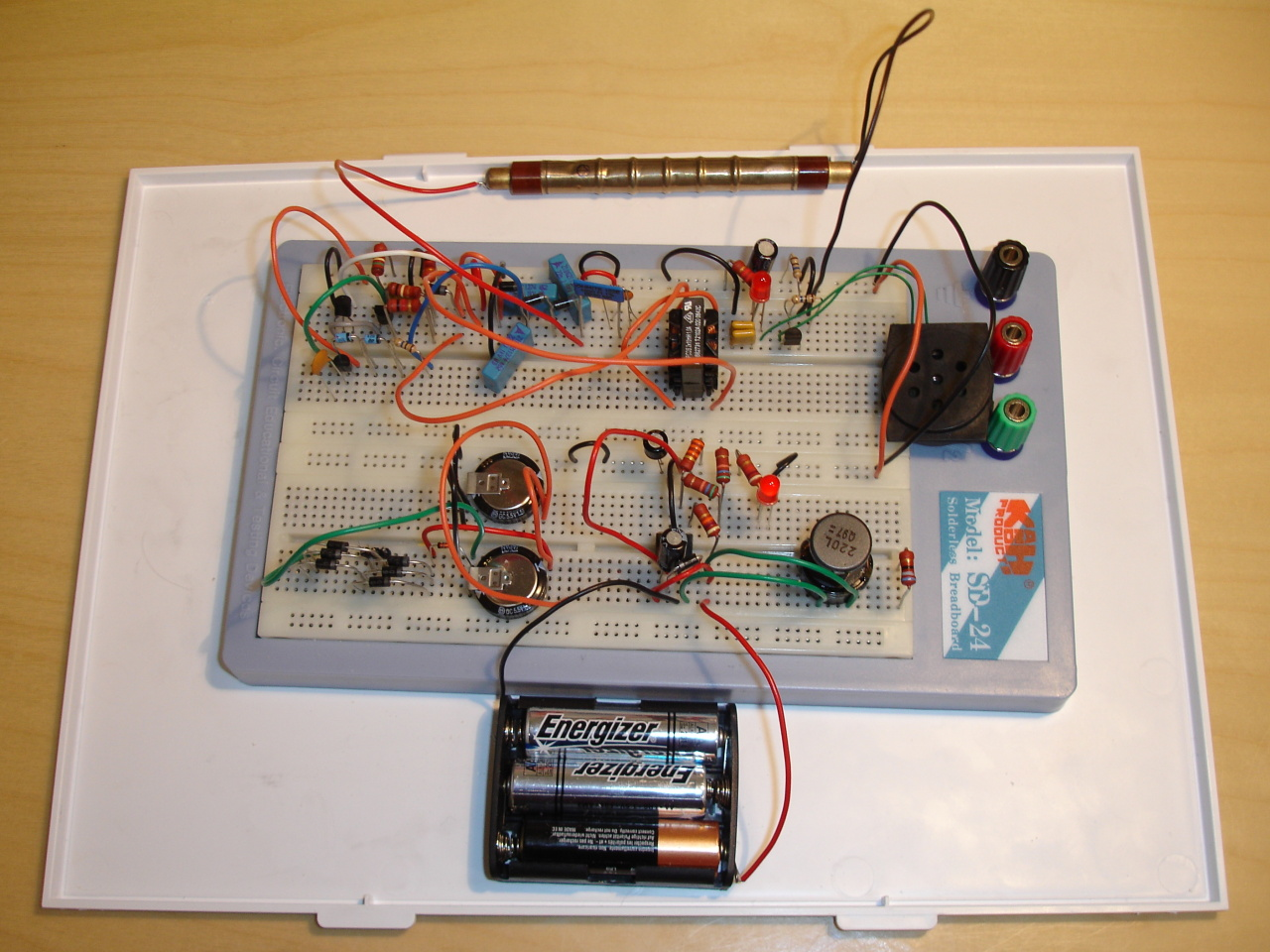 Indrek's Geiger counter project